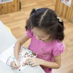 Children in our Preschool Learn Through Creativity