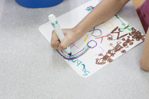 Through expressive arts kids learn about the world: Learning Centers Preschool and Daycare