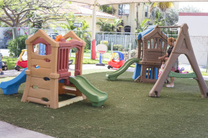 Our preschool and daycare outdoor spaces are fully inspected and accredited.