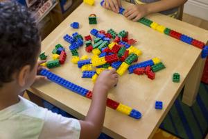 Children having fun in Saturday Childcare