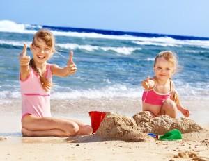 Children-love-the-beach