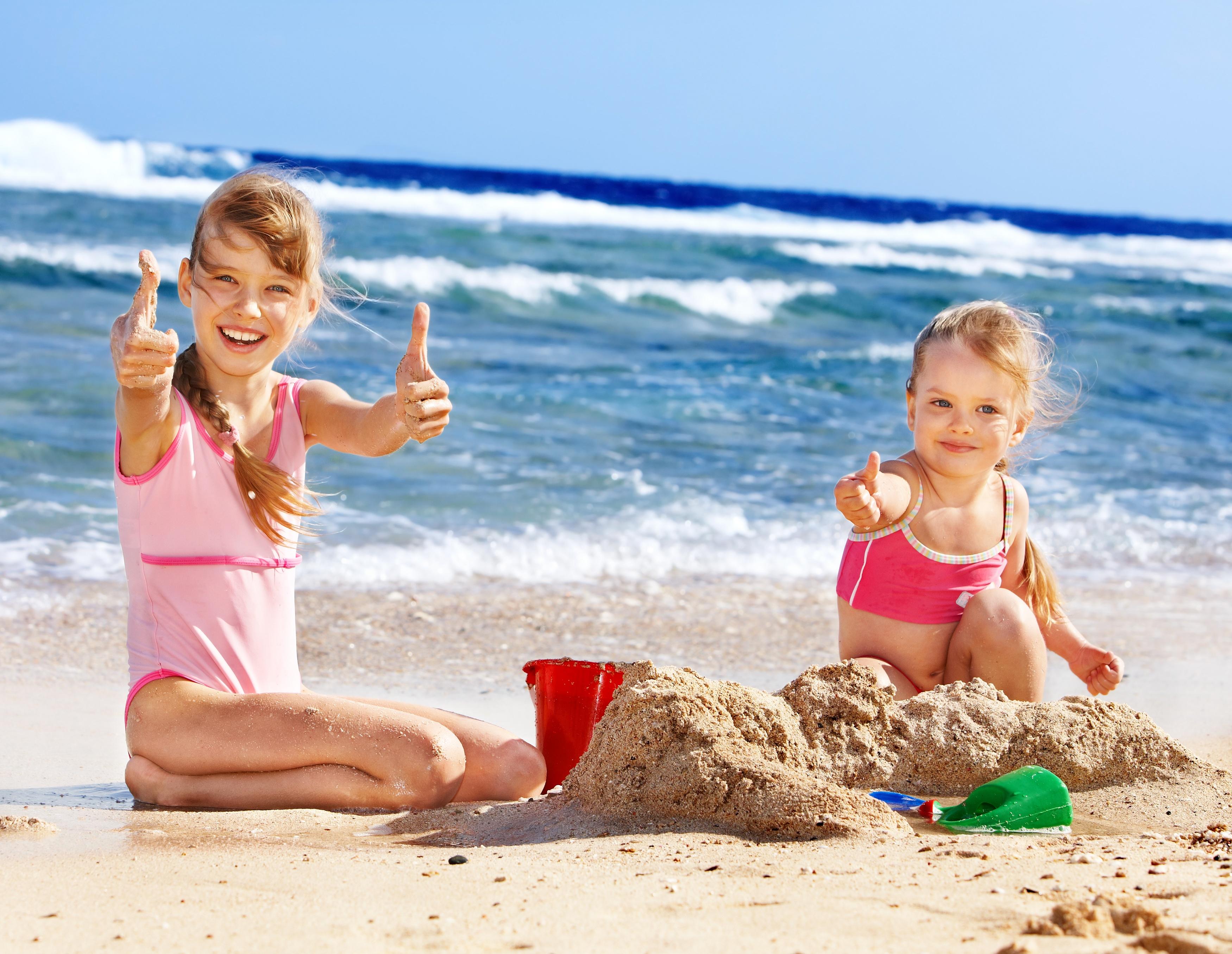 Children Love The Beach
